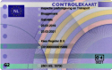 Digitale Tachograaf kaart G2 Controlekaart